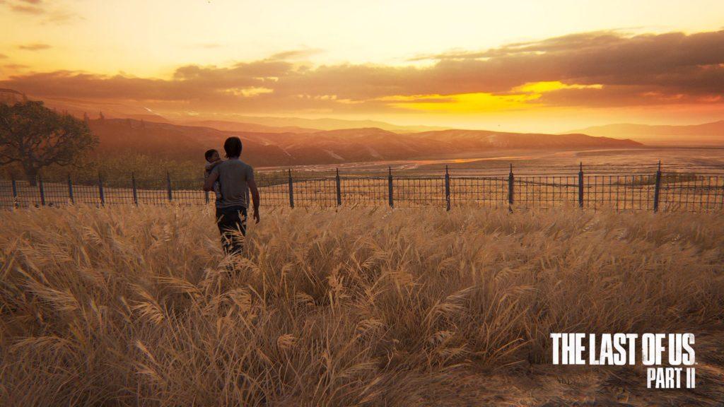 The Last of US, part II, sunset scene