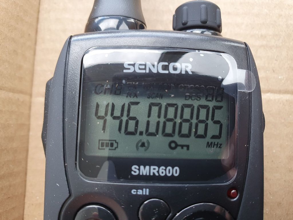 Sencor SMR 600 Display panel